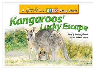 Kangaroos' Lucky Escape Kids Story Book