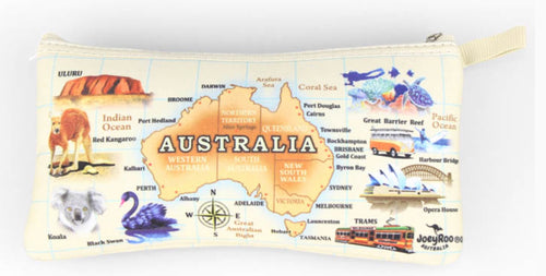 Pencil Case Australia Map