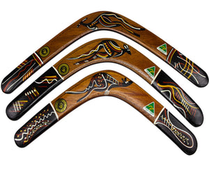 Traditional Boomerang  14 '' Timber