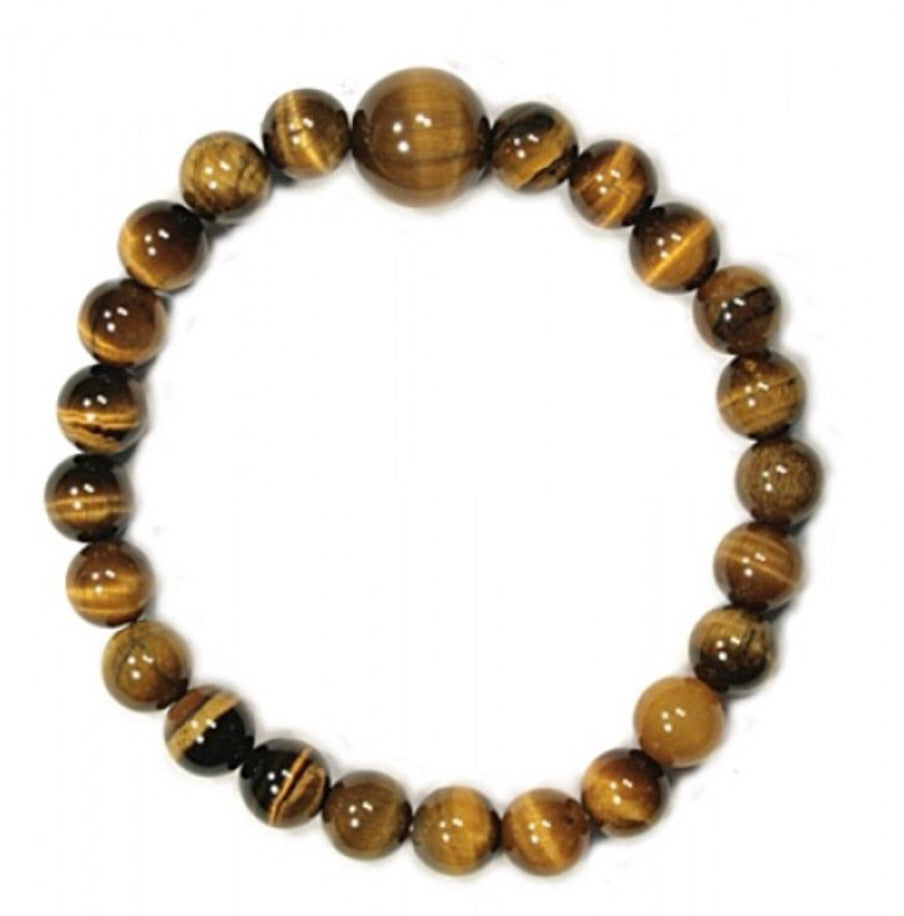BEAD BRACELET - TIGER EYE