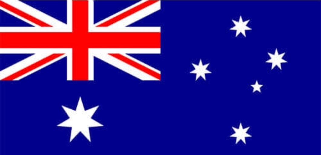 Australian Flag with Eyelets - 180 x 90 CM