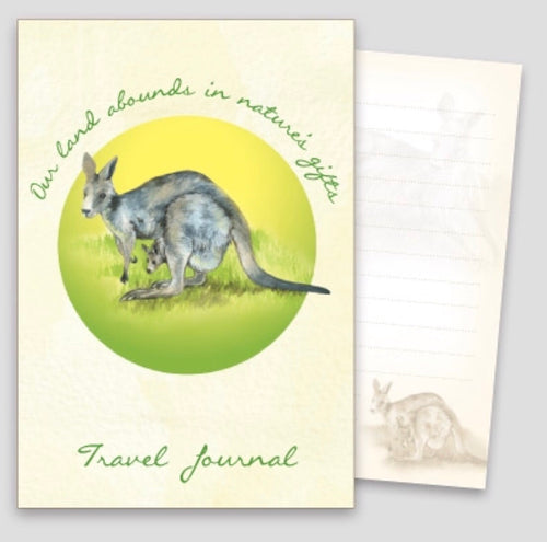 A6 Travel Journal - Western Grey Kangaroo