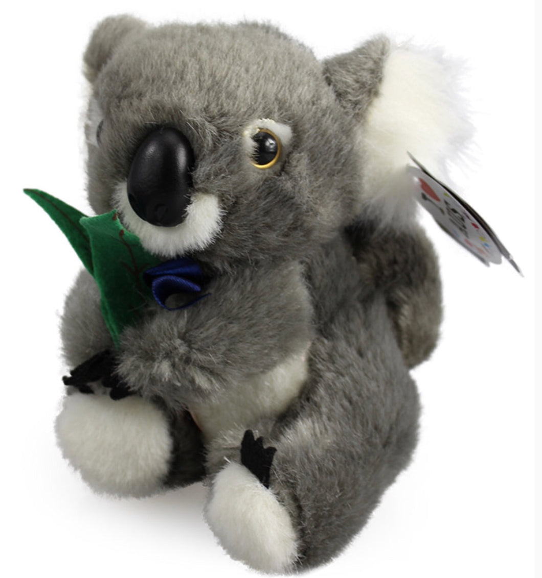 Musical Koala With Leaf 10''