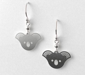 Koala Earrings - Allegria Designs