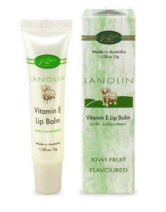 LANOLIN VITAMIN E LIP BALM WITH SUNSCREEN