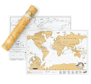 Luckies Scratch Map Travel Edition