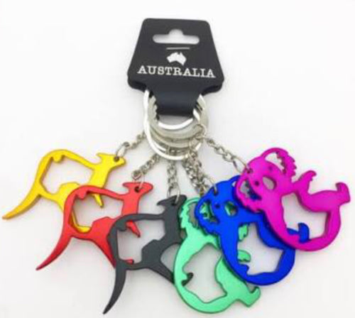 Metal Key Ring Mix
