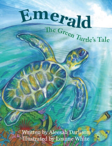 Softcover Books - Emerald - The Green Turtle's Tale