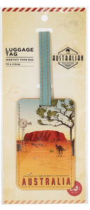 Australian Collection Luggage Tag - Outback