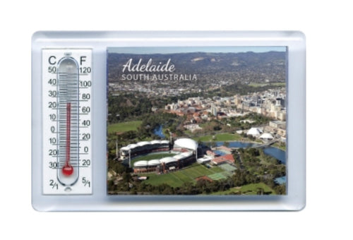 THERMOMETER MAGNET ADELAIDE AERIAL