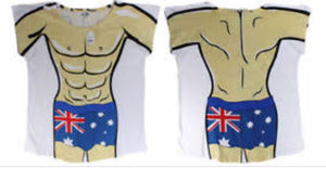 Aussie Male Body - One Size Fits Most