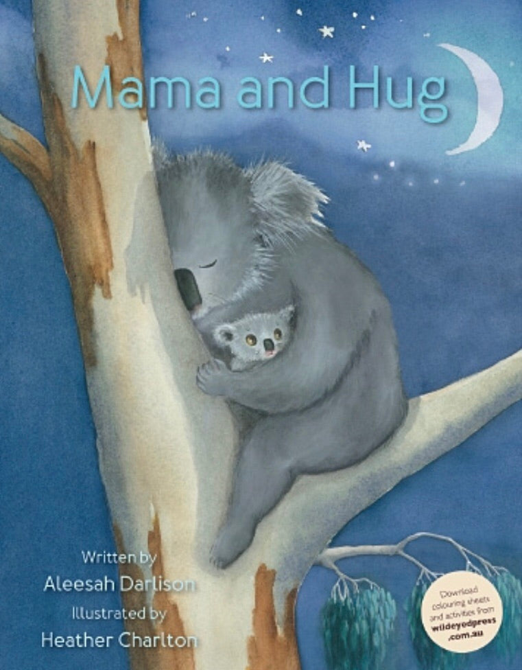 Softcover Book - Mama and Hug