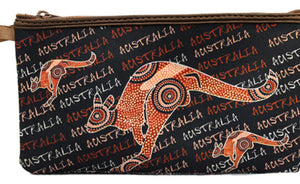 Dot Kangaroo Pencil Case