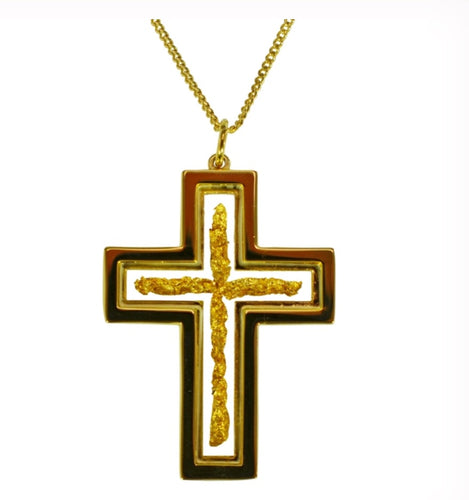Gold and Glass Cross