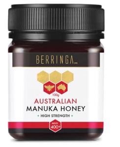 BERRINGA AUSTRALIAN SUPER MANUKA ACTIVE (PLUS 400 MGO) 100G