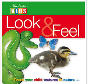 Look and Feel Teach Your Child Textures in Nature