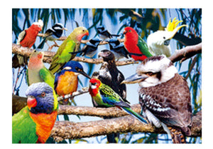 Birds of Australia 3D Magnet