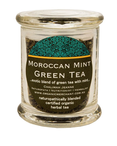Moroccan Mint Green Tea - Jar