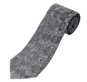 PAULINE GALLAGHER SILK TIE