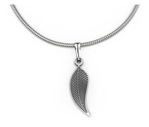 Gum Leaf Pendant - Allegria Designs