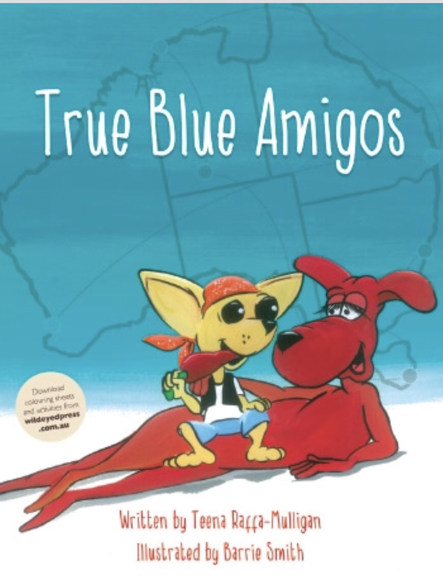 Softcover Books - True Blue Amigos