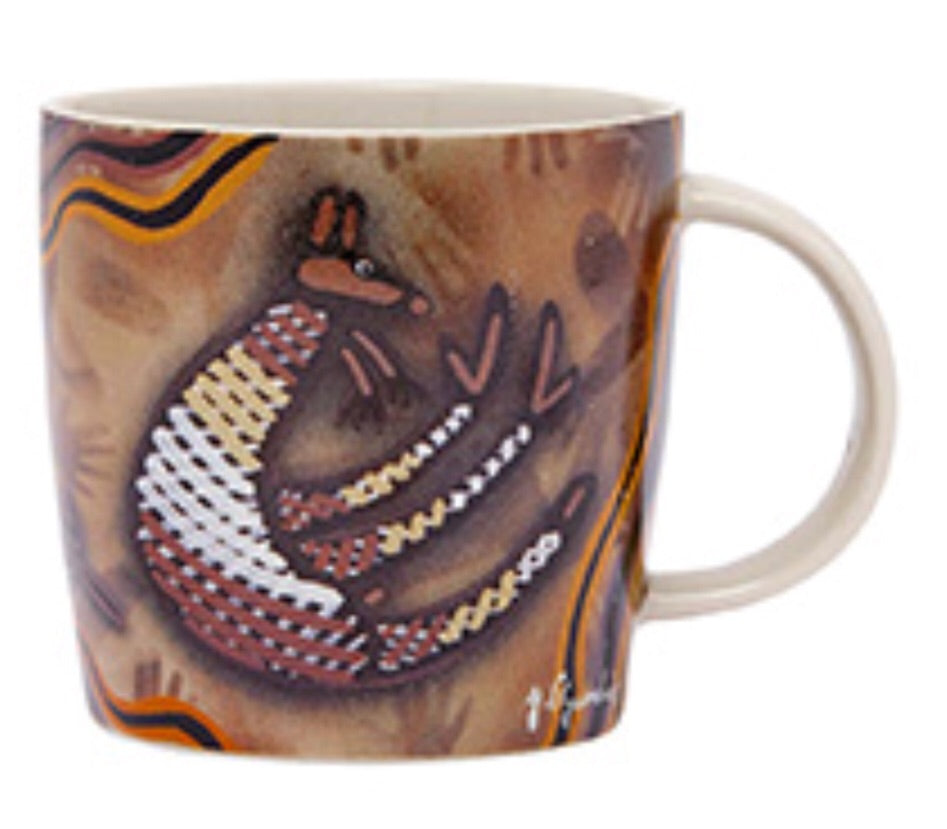 Dreamtime Creations - Kangaroo Art Mug