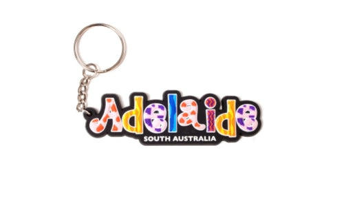 KEYRING SOFT PVC 3D ADELAIDE SOUTH AUSTRALIA CANDY