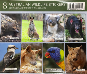 8 Wildlife Stickers
