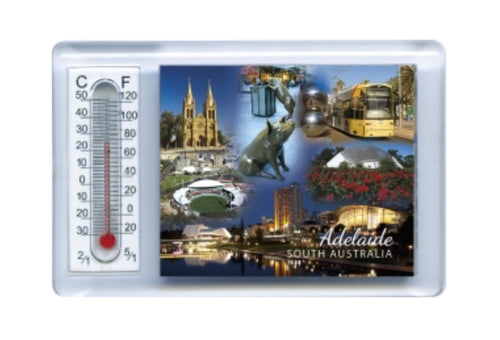 THERMOMETER MAGNET ADELAIDE MONTAGE