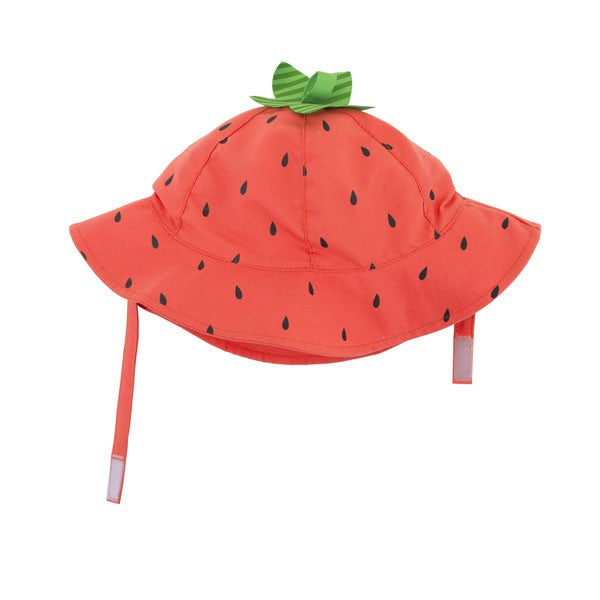 Zoocchini UPF 50+ Baby Sunhat - Strawberry