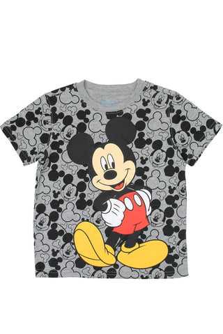 Mickey Mouse Graphic Print Boys Toddler T-Shirt