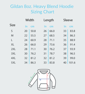 Note to Self, You Are Awesome - Gildan Adult Heavy Blend™ Hoodie