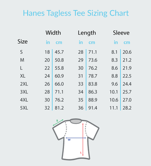 The Sound of Silence - Hanes Adult Tagless® T-Shirt
