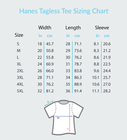 Happy Treble Face - Hanes Adult Tagless® T-Shirt