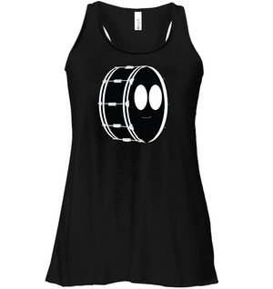 Bass Drum - Bella + Canvas Women's Flowy Racerback Tank