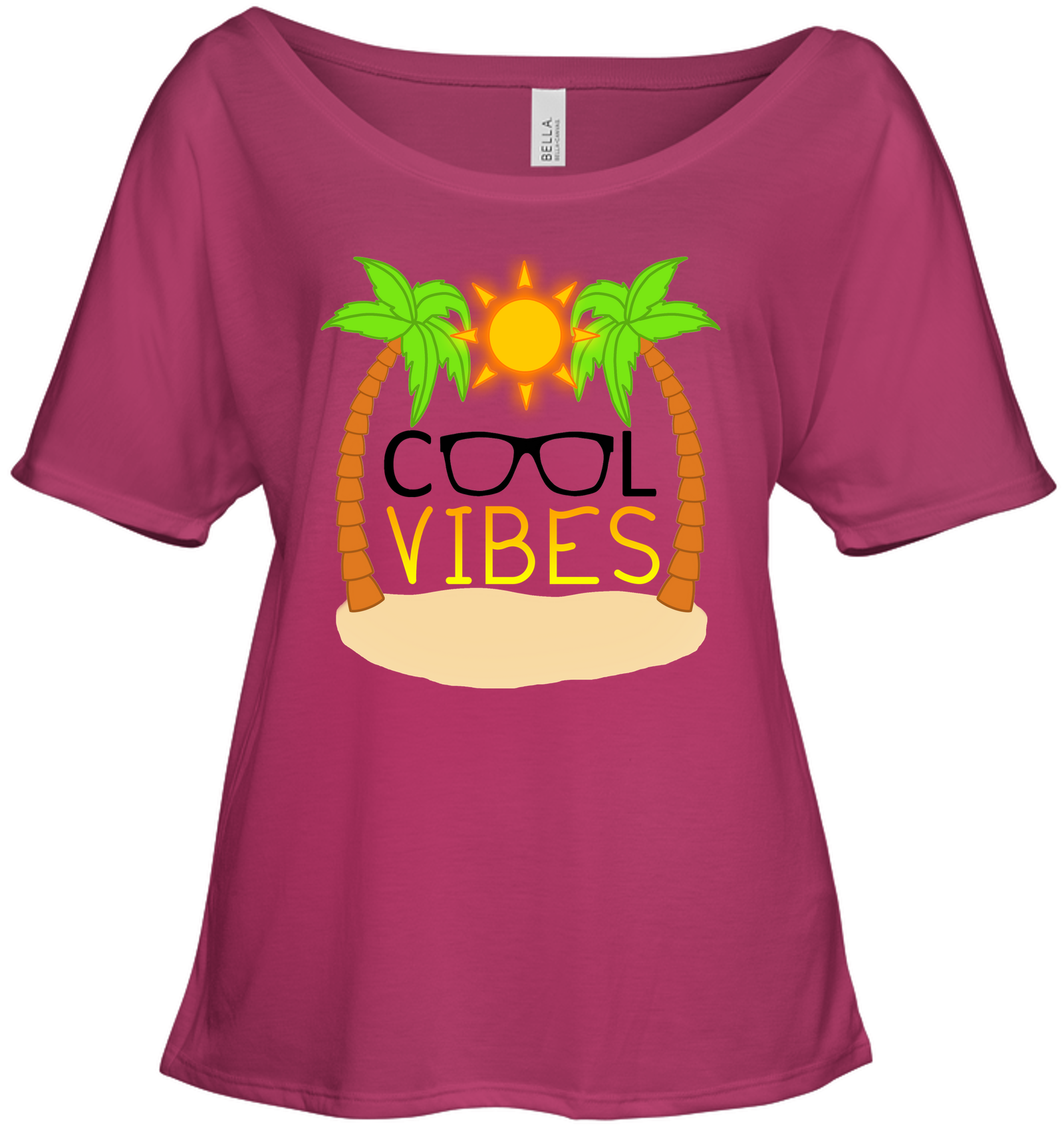 Cool Vibes - Bella + Canvas Women's Slouchy Tee