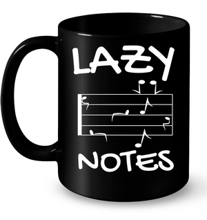 Lazy Notes - Ceramic Mug