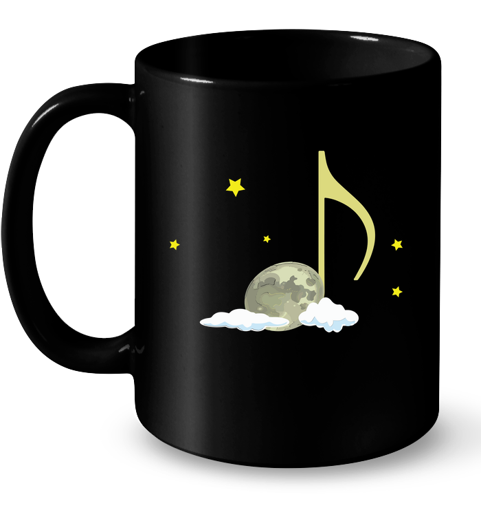 Night Note and stars- Ceramic Mug