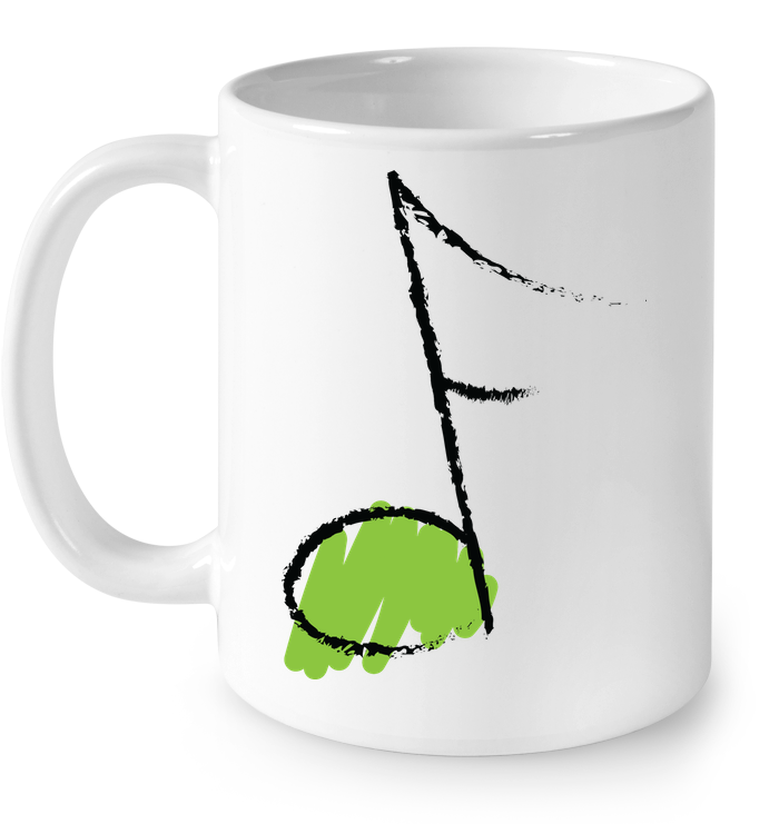 Green Note - Ceramic Mug