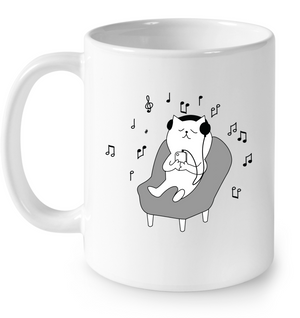Chilin Kitty - Ceramic Mug