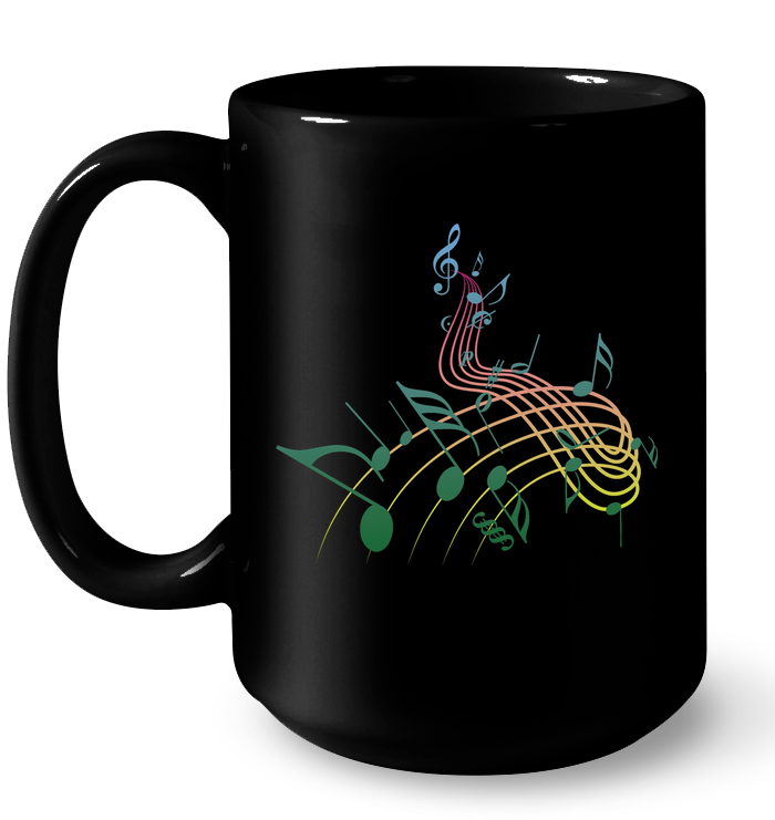 Musical Swirl - Ceramic Mug