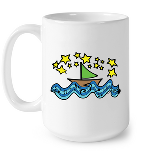 Sailing Under the Stars - Ceramic Mug