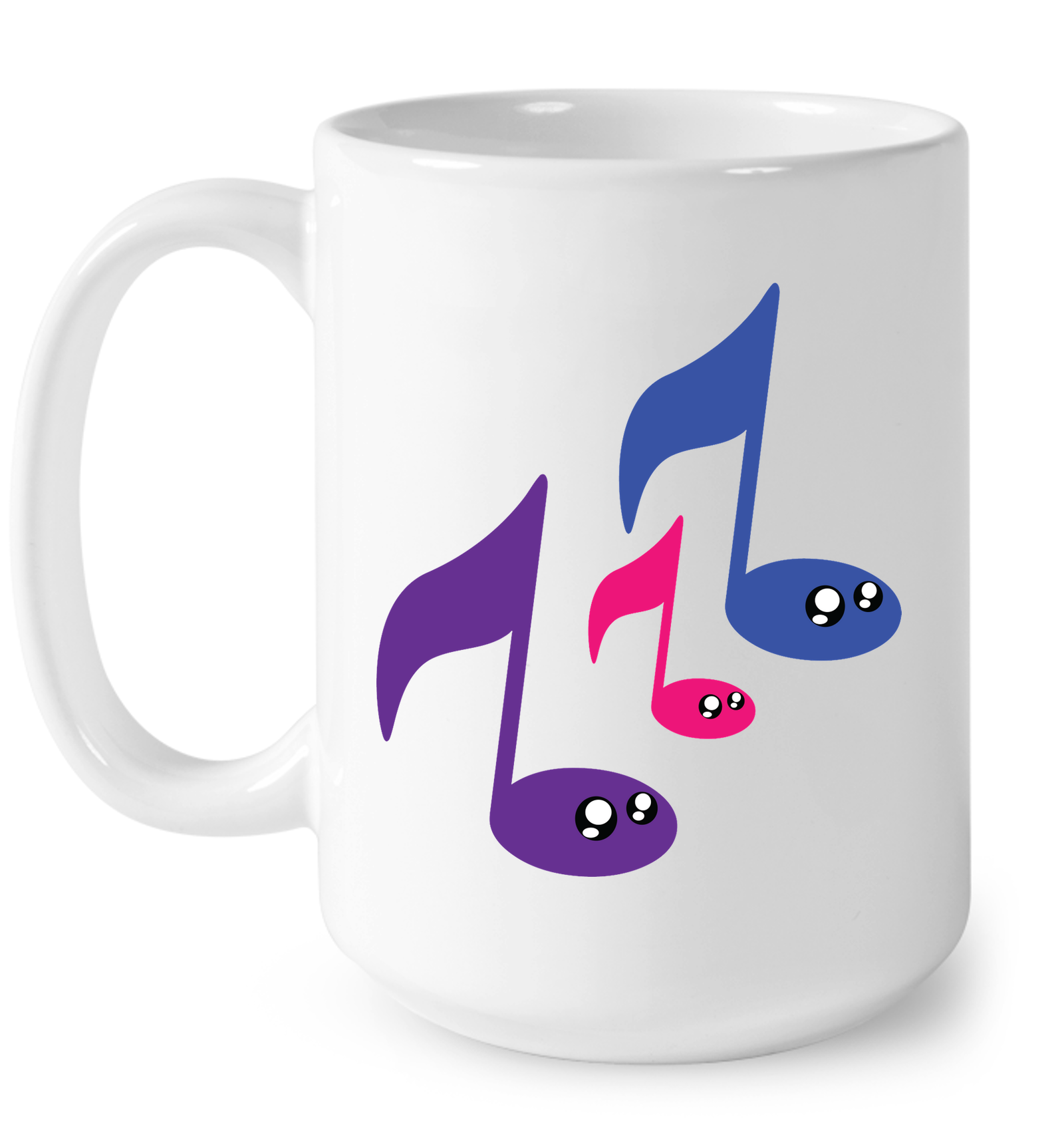 3 Note Friends - Ceramic Mug