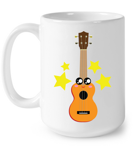 Cute Guitar - Ceramic Mug