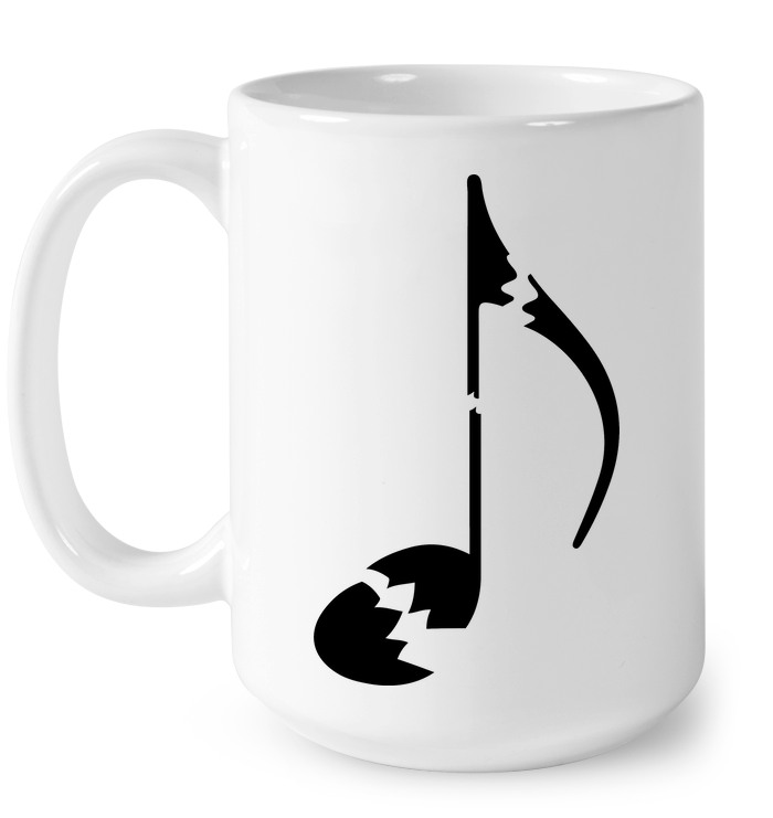 Broken Note  - Ceramic Mug