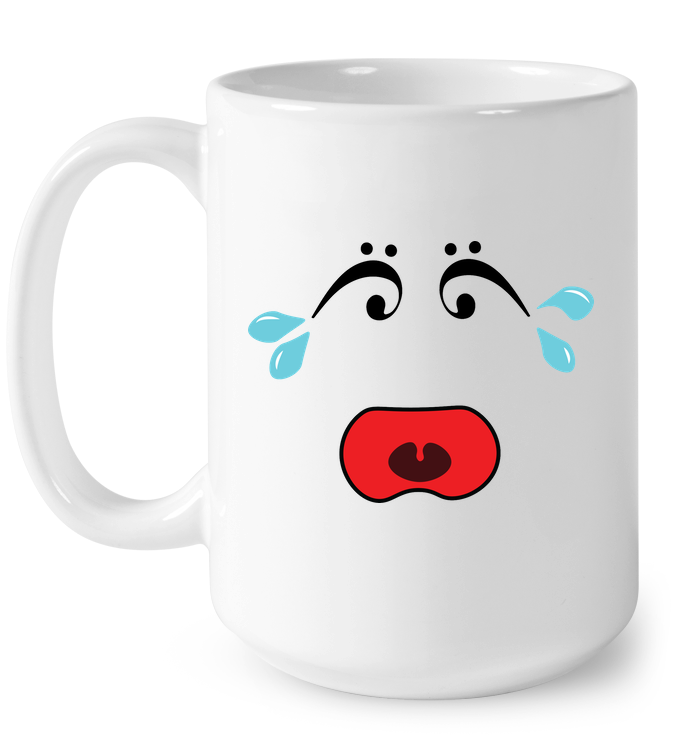 I Miss Music Teary Face - Ceramic Mug