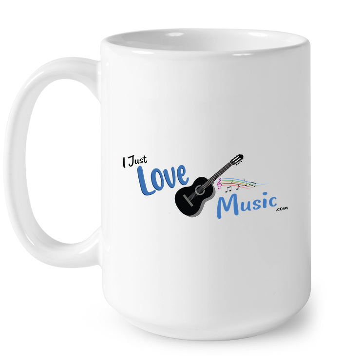 I Just LOVE Music - Ceramic Mug
