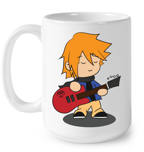 Boy with Guitar - Ceramic Mug