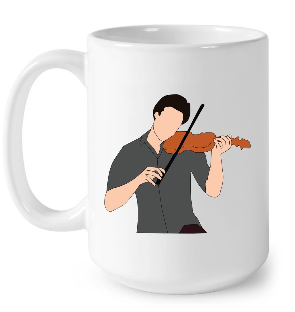 Guy Playin the Violin - Ceramic Mug