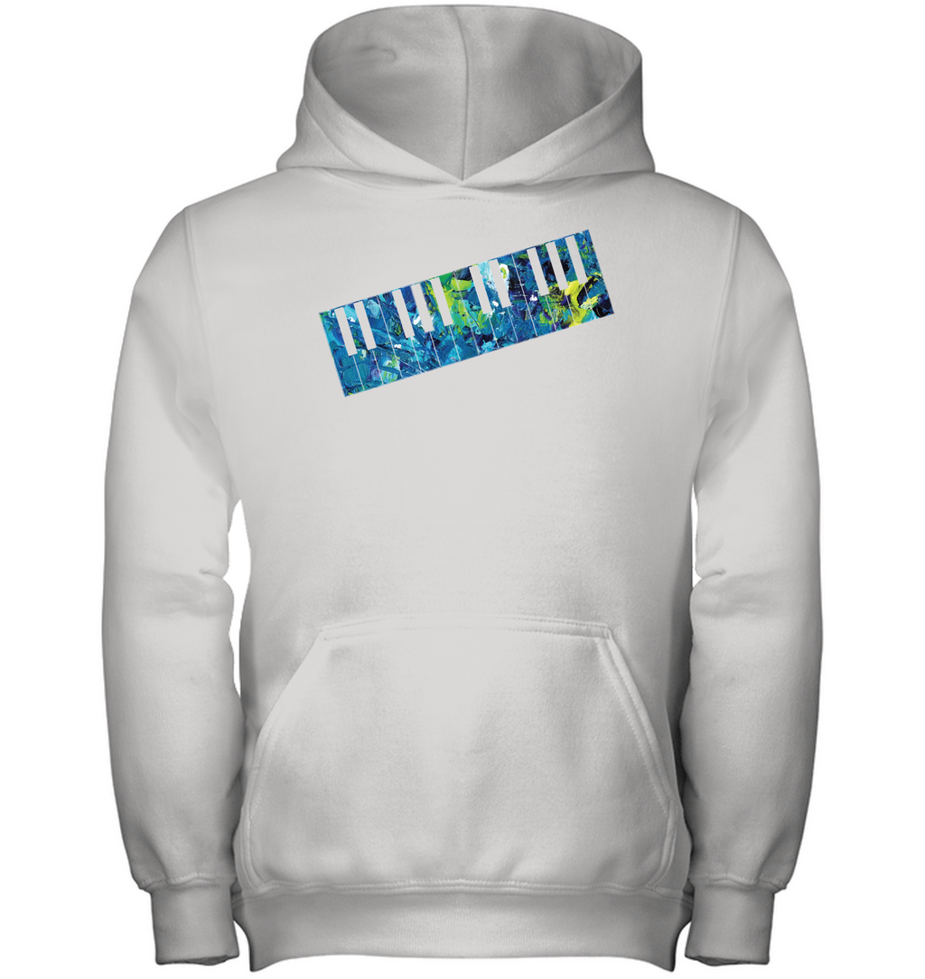 Keyboard Art - Gildan Youth Heavyweight Pullover Hoodie